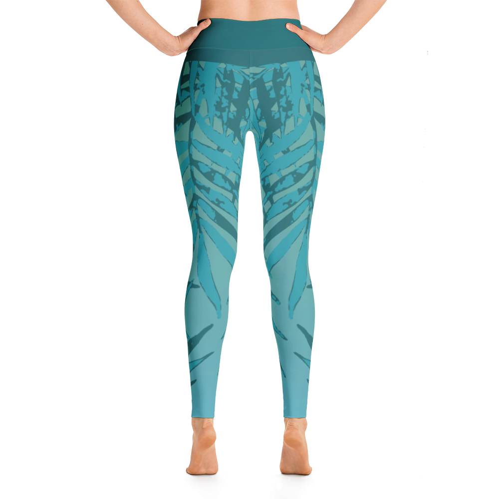 Wearable Art Leggings : Paradise