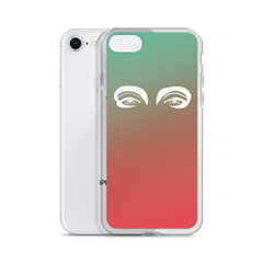 iPhone Case : Orange/Green Ombré