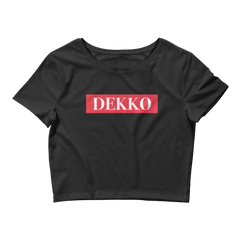 Graphic Crop Top : Supremely DEKKO