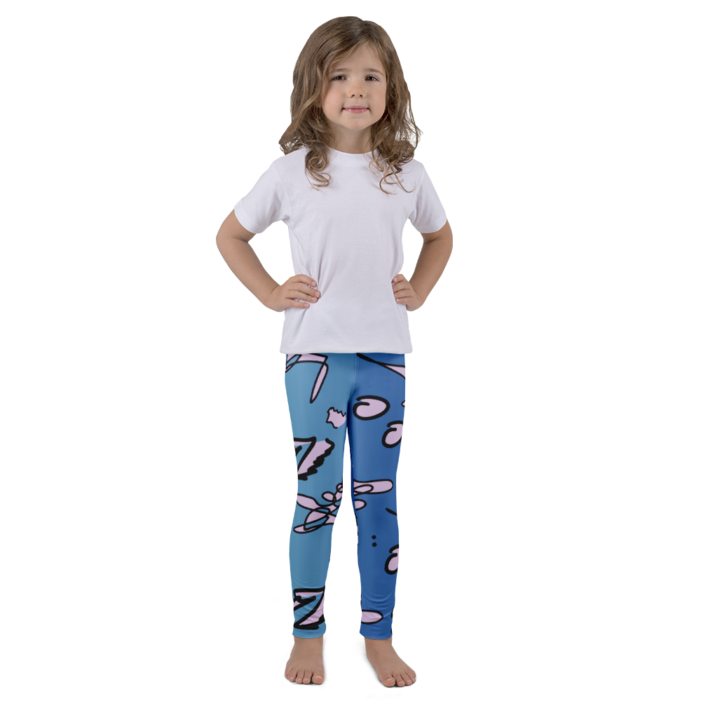 Wearable Art Kids Leggings : Sugar Bowl