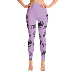 Wearable Art Leggings : Wink