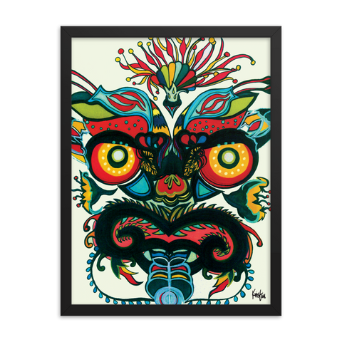Framed Art Print : Mahakala