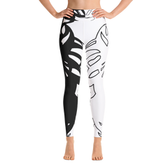Wearable Art Leggings : Black & Tight