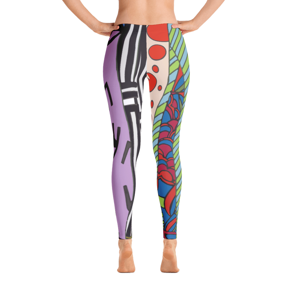Wearable Art Leggings : Les Jambes