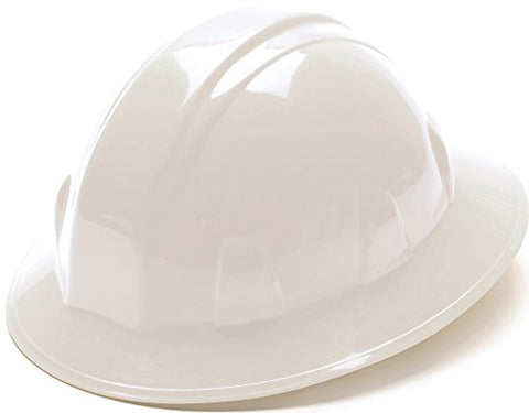 Pyramex Full Brim 4 Point Ratchet Suspension Hard Hat