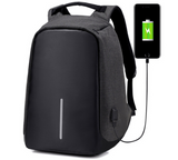 Anti-theft Backpacks - USB charging