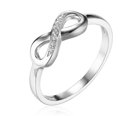 Infinity Forever Love. 925 Silver