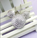 Necklace Flashdrive Diamond Mickey - 16 Gb