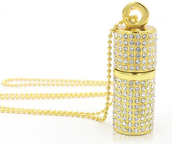 Pendrive jewel necklace