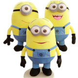 "1pcs  Minion 7 inch "" 18cm  Jorge Stewart Dave with tags 3D eyes"