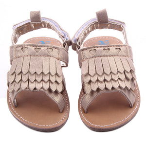 Baby girls shoes Tassel Toddler Princess