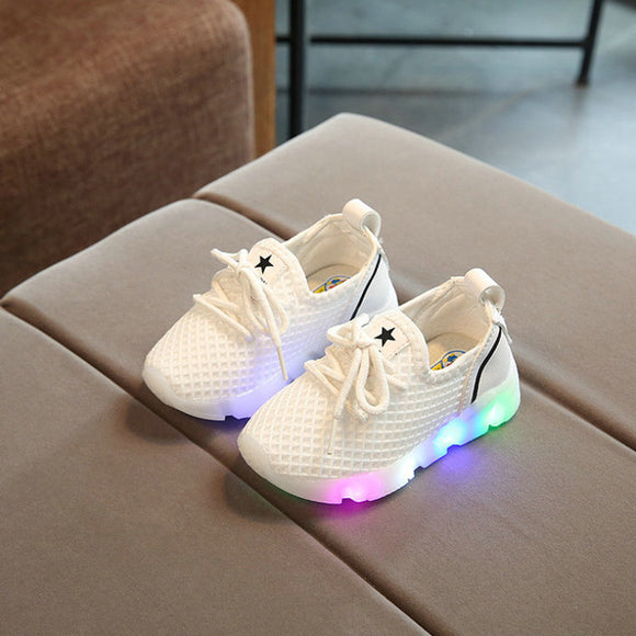 2017  Fashion, Children Slippers with Led Light