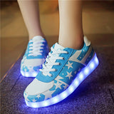 Slippers with led lights for children
