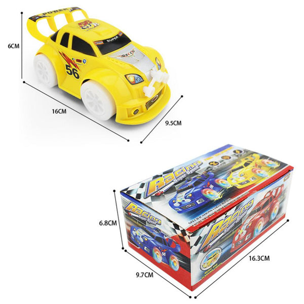 Automatic Steering Flashing Music Racing Electric Car - Dealzilla shop