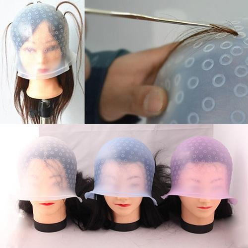 Silicon Reusable Hair Coloring Highlighting Dye Cap - Dealzilla shop