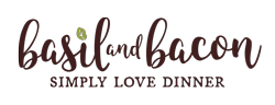 basil and bacon logo