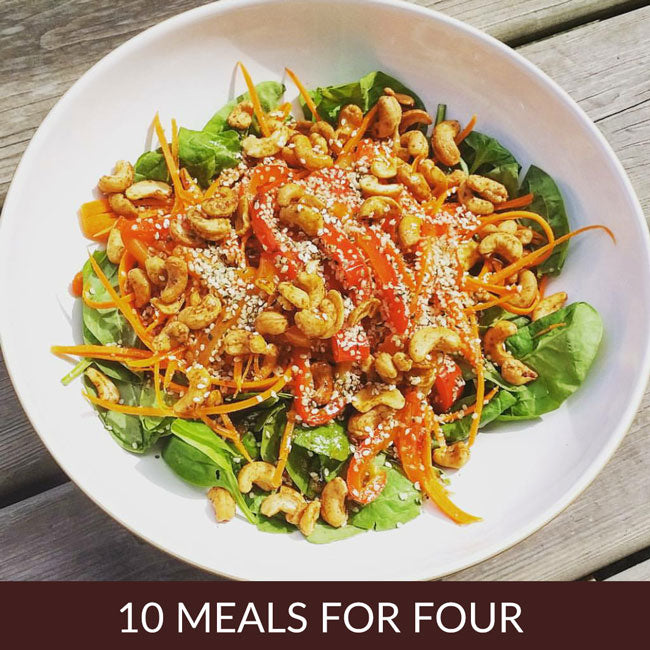 10 MEALS FOR FOUR