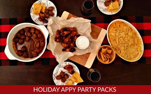 HOLIDAY APPY PARTY PACKS