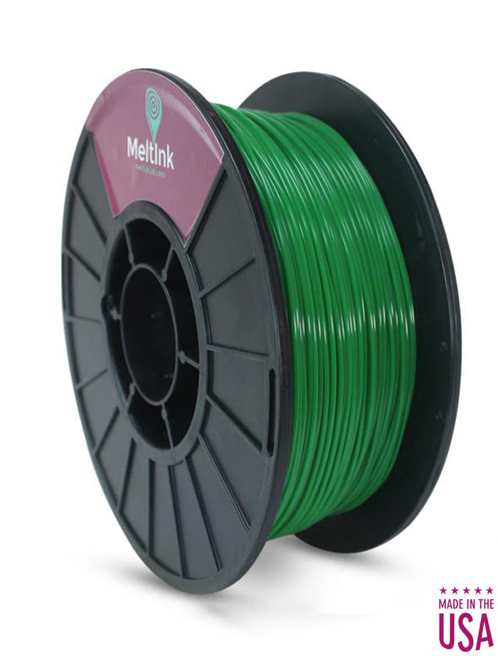 Dark Green PLA Ø 2.85mm - Meltink 3D