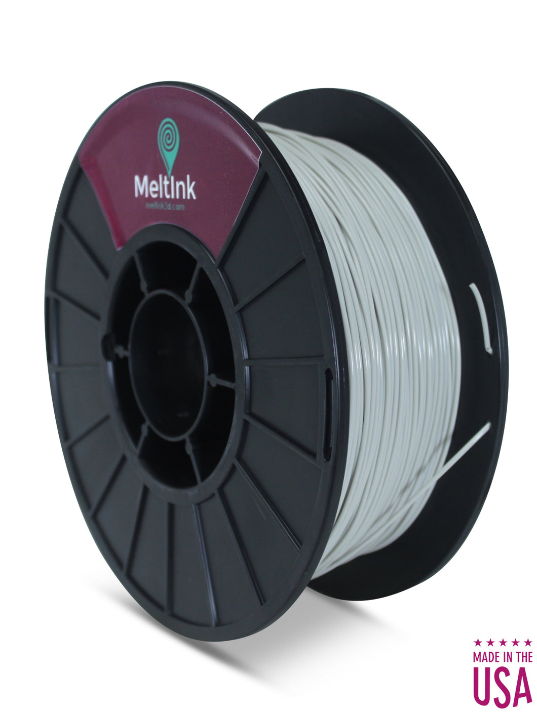 MeltInk3D ABS- 1K175GRY05 Cool Gray ABS 3D Printer Filament Ø 1.75mm, 1Kg, Dimensional Accuracy: ± 0.05mm