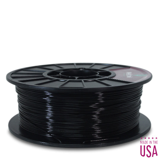 Black PLA Ø 1.75mm - Meltink 3D