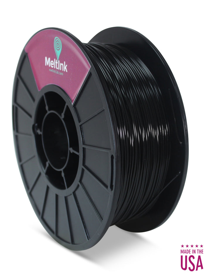 Black PLA Ø 2.85mm - Meltink 3D