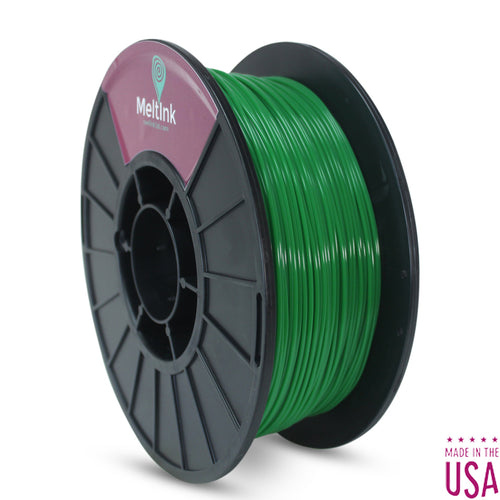 MeltInk3D PLA Dark Green PLA 3D Printer Filament Ø 1.75mm, 695 g, Dimensional Accuracy: ± 0.05mm