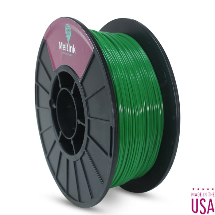 Clearance Dark Green PLA/PHA Ø 2.85mm - Meltink 3D