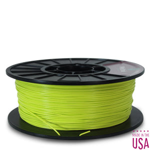 MeltInk3D ABS- 1K175LGR05 Light Green ABS 3D Printer Filament Ø 1.75mm, 1Kg, Dimensional Accuracy: ± 0.05mm (Neon Green)