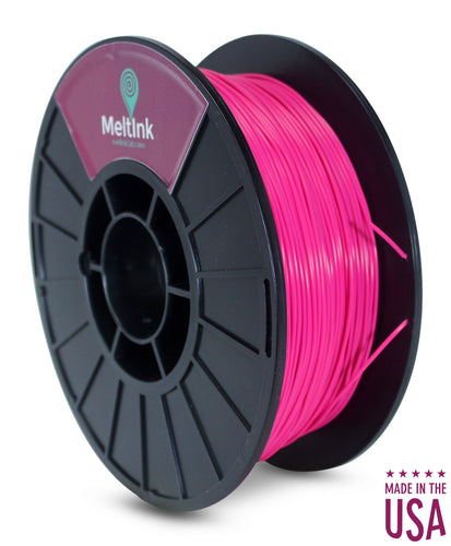 MeltInk3D ABS- 1K175MAG05 Magenta ABS 3D Printer Filament Ø 1.75mm, 1Kg, Dimensional Accuracy: ± 0.05mm
