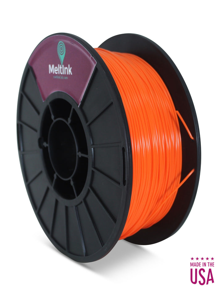 Orange PLA Ø 2.85mm - Meltink 3D