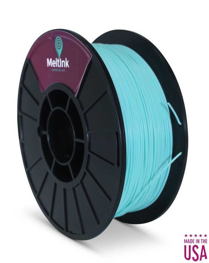 QuinSaga Aqua ABS 1.75mm, (Light Cyan Blue) - Meltink 3D