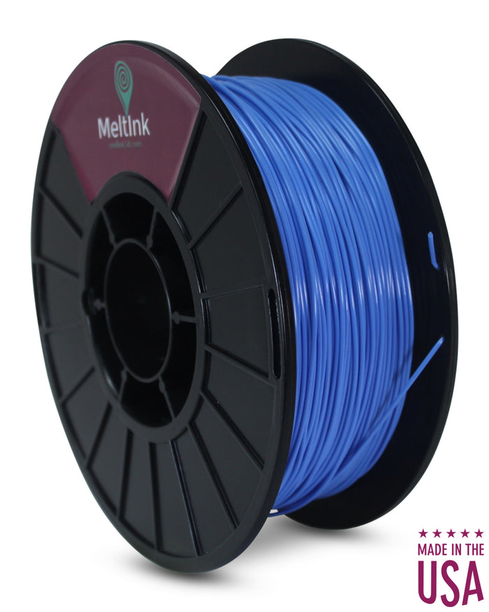 MeltInk3D PHA-1K285SBL05 Sky Blue PLA/PHA 3D Printer Filament Ø 2.85mm, 1Kg, Dimensional Accuracy: ± 0.05mm
