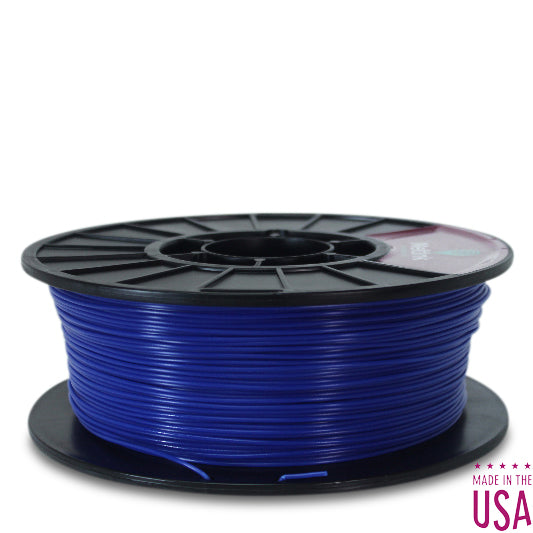 MeltInk3D PHA-1K285BLU05 Ultramarine Blue PLA/PHA 3D Printer Filament Ø 2.85mm, 1Kg, Dimensional Accuracy: ± 0.05mm (Dark Blue)