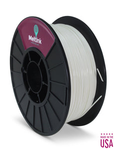 MeltInk3D ABS- 1K175WHT05 White ABS 3D Printer Filament Ø 1.75mm, 1Kg, Dimensional Accuracy: ± 0.05mm