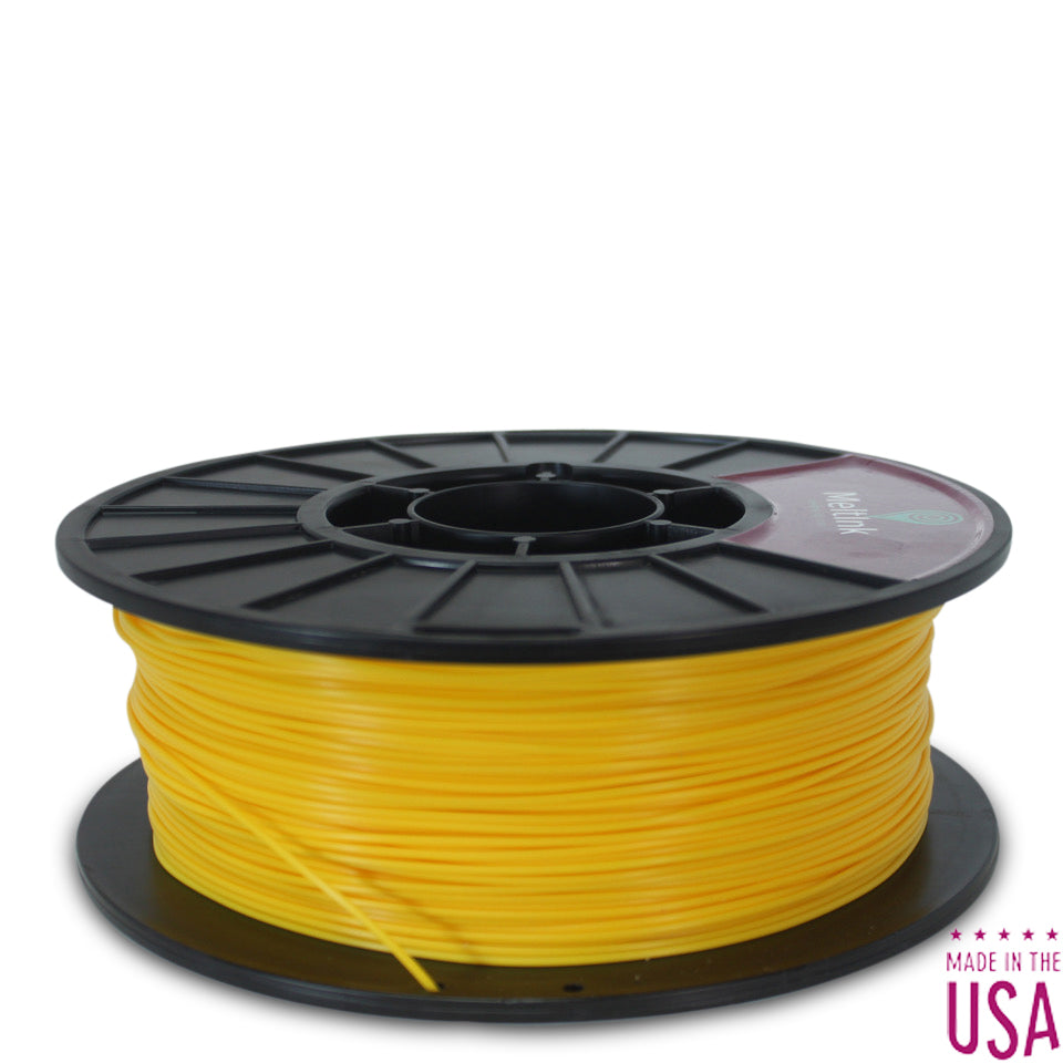Clearance Yellow PLA/PHA Ø 2.85mm - Meltink 3D