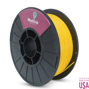 MeltInk3D ABS- 1K175YEL05 Yellow ABS 3D Printer Filament Ø 1.75mm, 1Kg, Dimensional Accuracy: ± 0.05mm