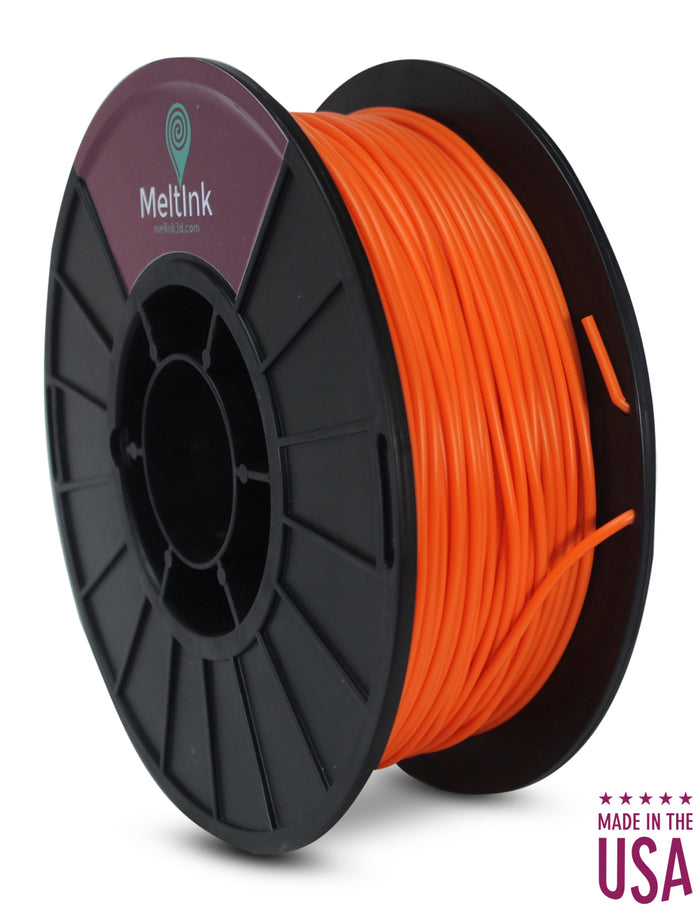 Orange PLA/PHA Ø 2.85mm - Meltink 3D