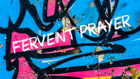 Fervent Prayer Graphic Flyer Image