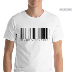 Barcode Bought w/ a Price Short-sleeve Unisex T-Shirt