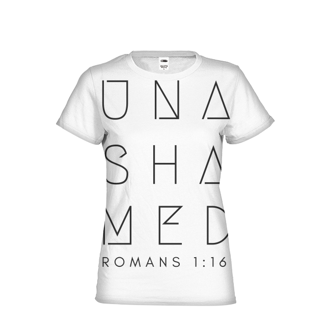 Unashamed Womens All-Over Print T-shirt