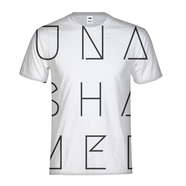 Unashamed Mens All-Over Print T-shirt