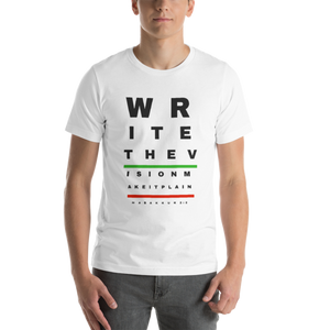 Write The Vision Short-Sleeve Unisex T-Shirt White