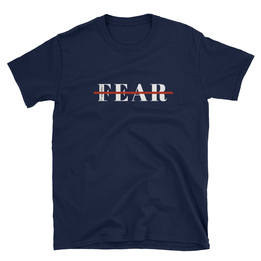 Fearless Short-Sleeve Unisex T-Shirt Navy Blue