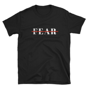 Fearless Short-Sleeve Unisex T-Shirt Black