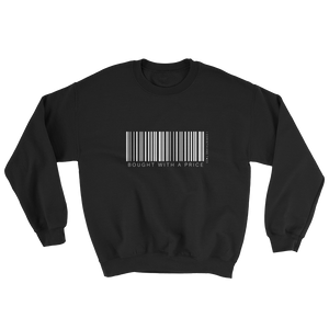 Barcode Bought w/ a Price Sweatshirt