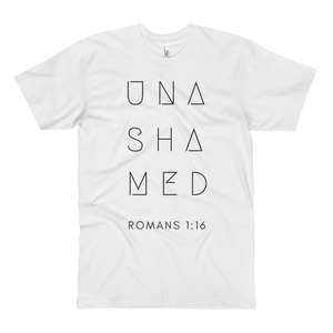 Unashamed Unisex Long Body Tall Urban T-Shirt