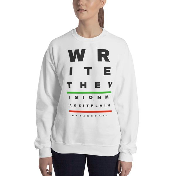 Write The Vision Unisex Sweatshirt