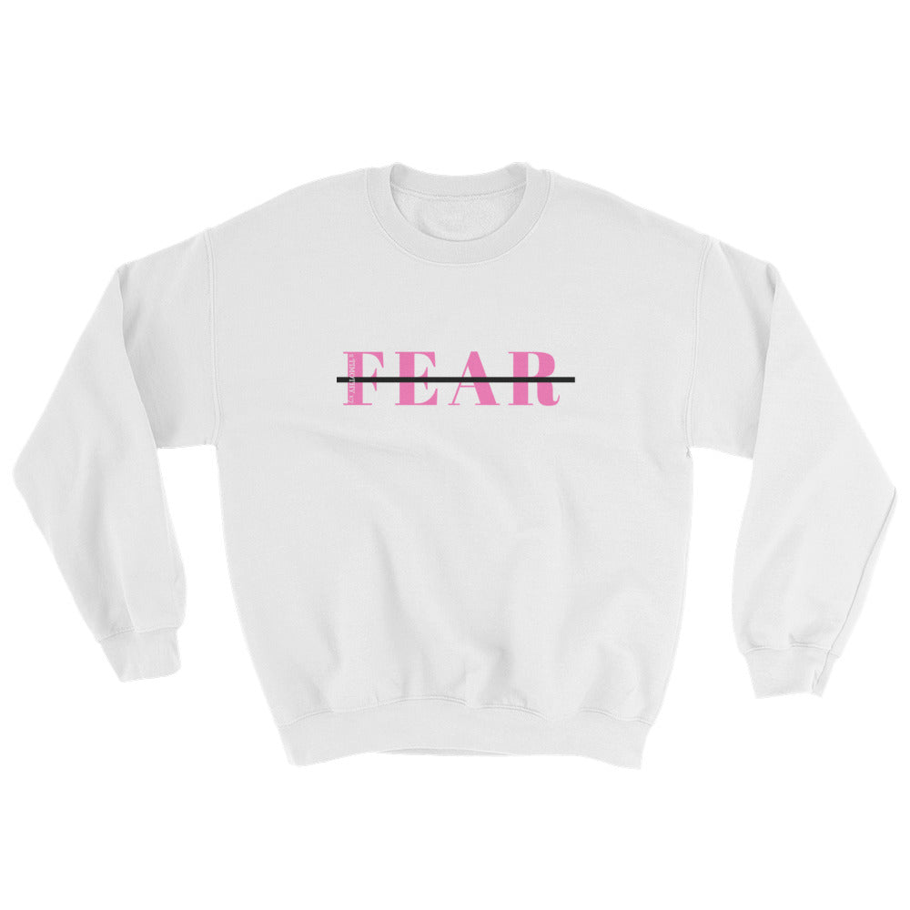 Fearless Sweatshirt Pink Dominion