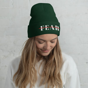 Fearless Cuffed Beanie Multiple Colors